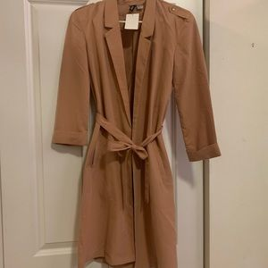 NEW Rose Gold Duster Jacket